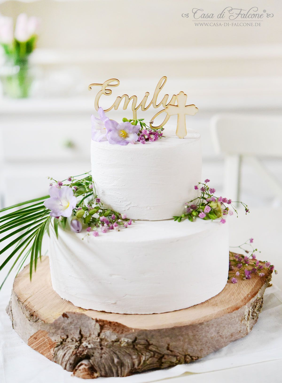 Personalisierter Cake Topper mit Namen