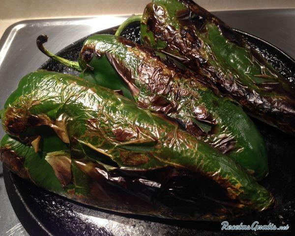Receta De Espagueti Verde Con Chile Poblano