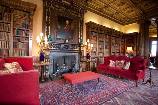 French Castle Interiors Of The South Drawing Room Is