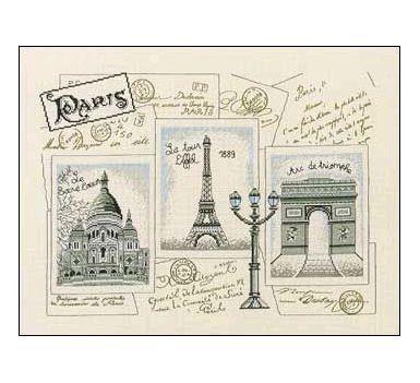 Paris Post Card 1
