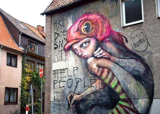 60 bemerkenswerte Beispiele für Graffiti-Kunst | Art ...