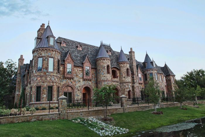 Exterior shot my next home pinterest luxury for Castle home builders