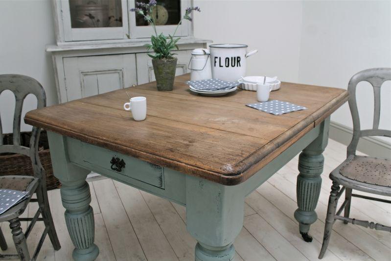 Distressed Antique Farmhouse Kitchen Table Country Kitchen Tables Kitchen Table Settings Farmhouse Kitchen Table Sets