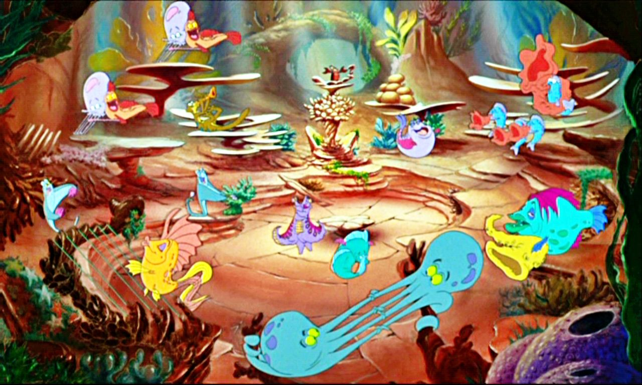 23 Best Dance Scene Under The Sea The Whole Thing Is Fish Dancing And Singing About How M The Little Mermaid Mermaid Under The Sea Little Mermaid Decorations