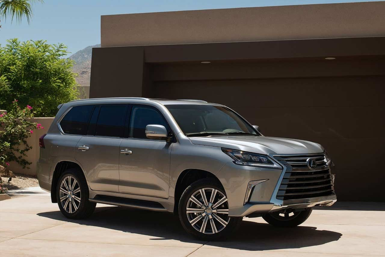 Lexus LX 570 launched in India; Priced at INR 2.32 Crore