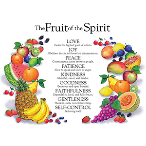 Free Fruit Of The Spirit Echart Rose Publishing Blog Fruit Of The Spirit Free Fruit Free Bible