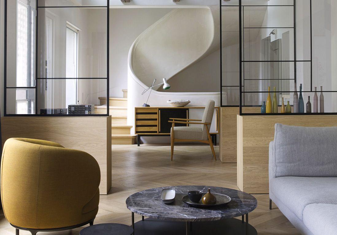 L Etonnante Renovation D Une Maison Parisienne Du 19eme Siecle
