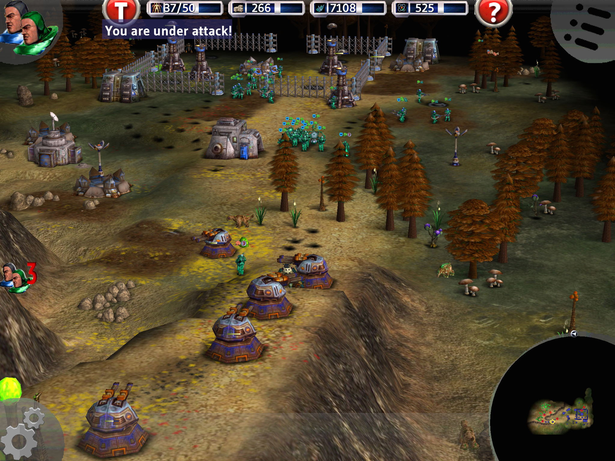 Marine Siege RTS - It's hard to believe this is an RTS game on an iPad!!