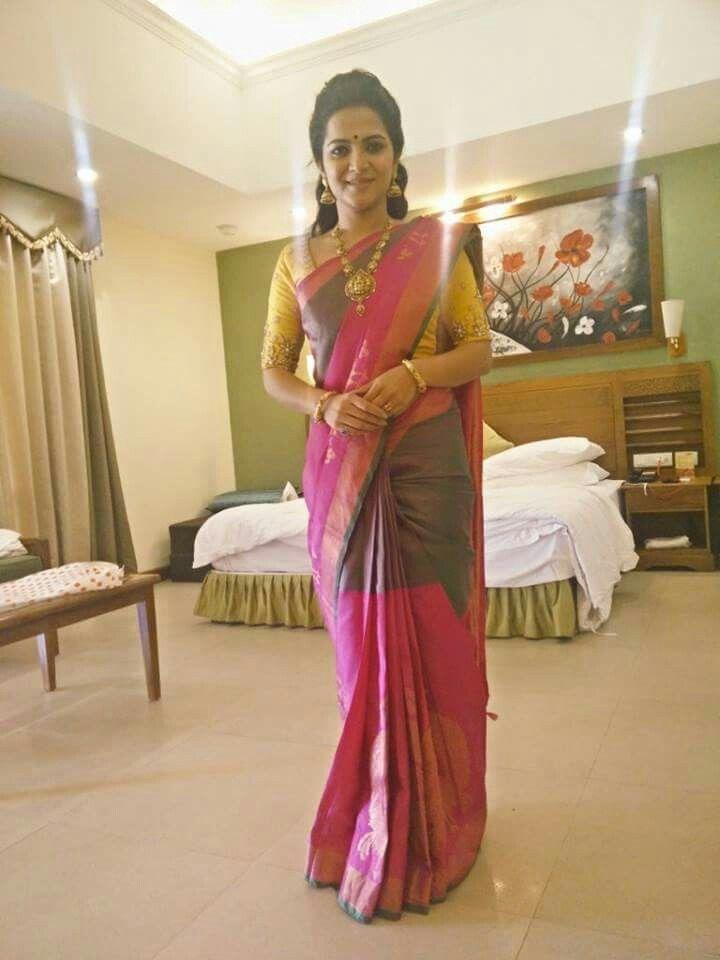 Divyadarshini Dd In Silk Saree