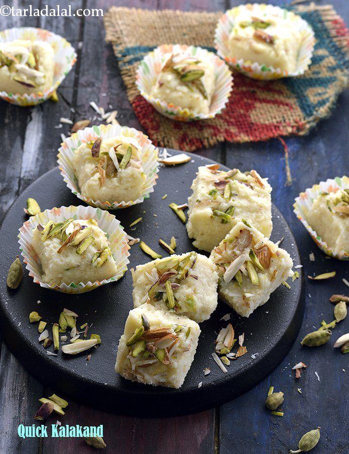 Quick Kalakand Recipe Kalakand Recipe Indian Mithai Recipe Kalakand Recipe Recipes Food