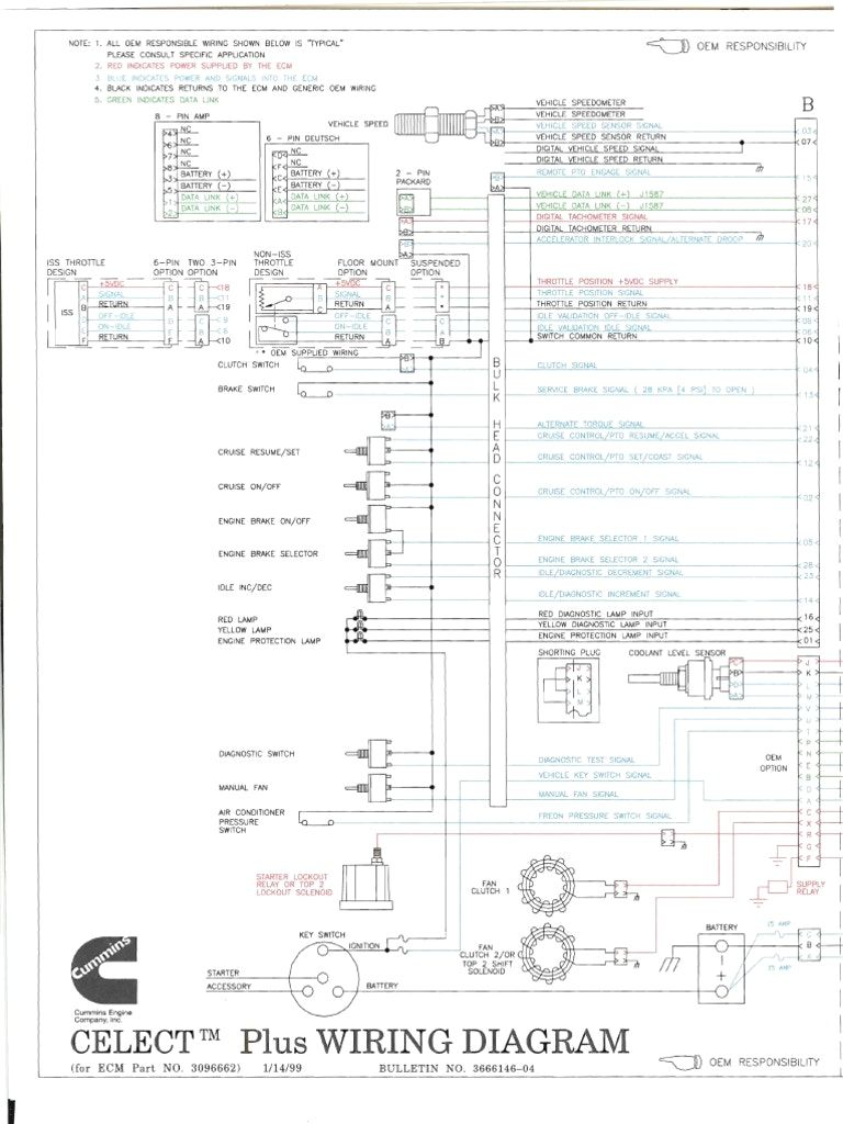 medium resolution of cummins n14 celect wiring diagram autoctono me inside wellread throughout