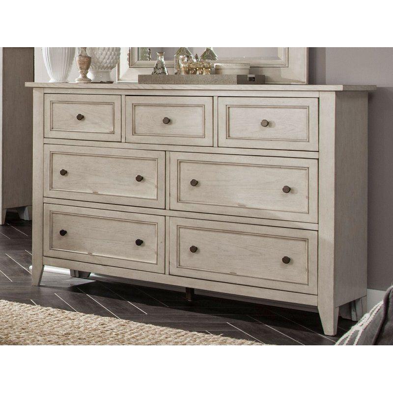 Weathered White Dresser Raelynn Home Furniture Online
