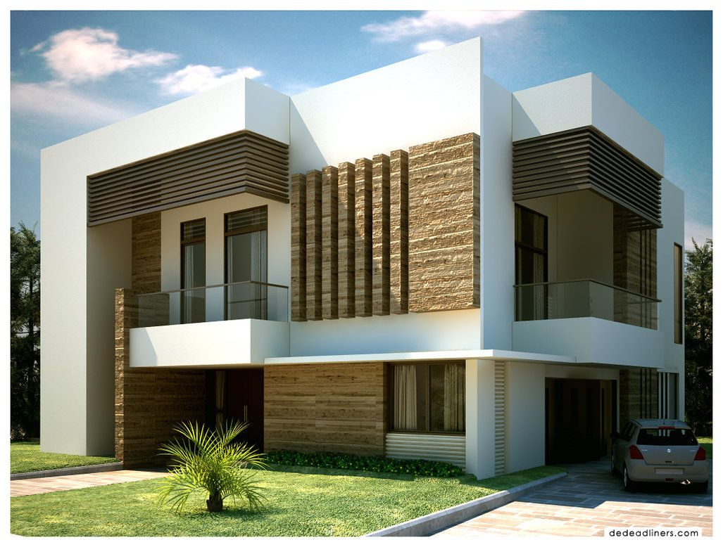 House design wallpaper - Exterior Architecture Design