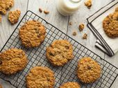Photo of Oatmeal, Chocolate Chip, and Raisin Cookies-Oatmeal, Chocola…
