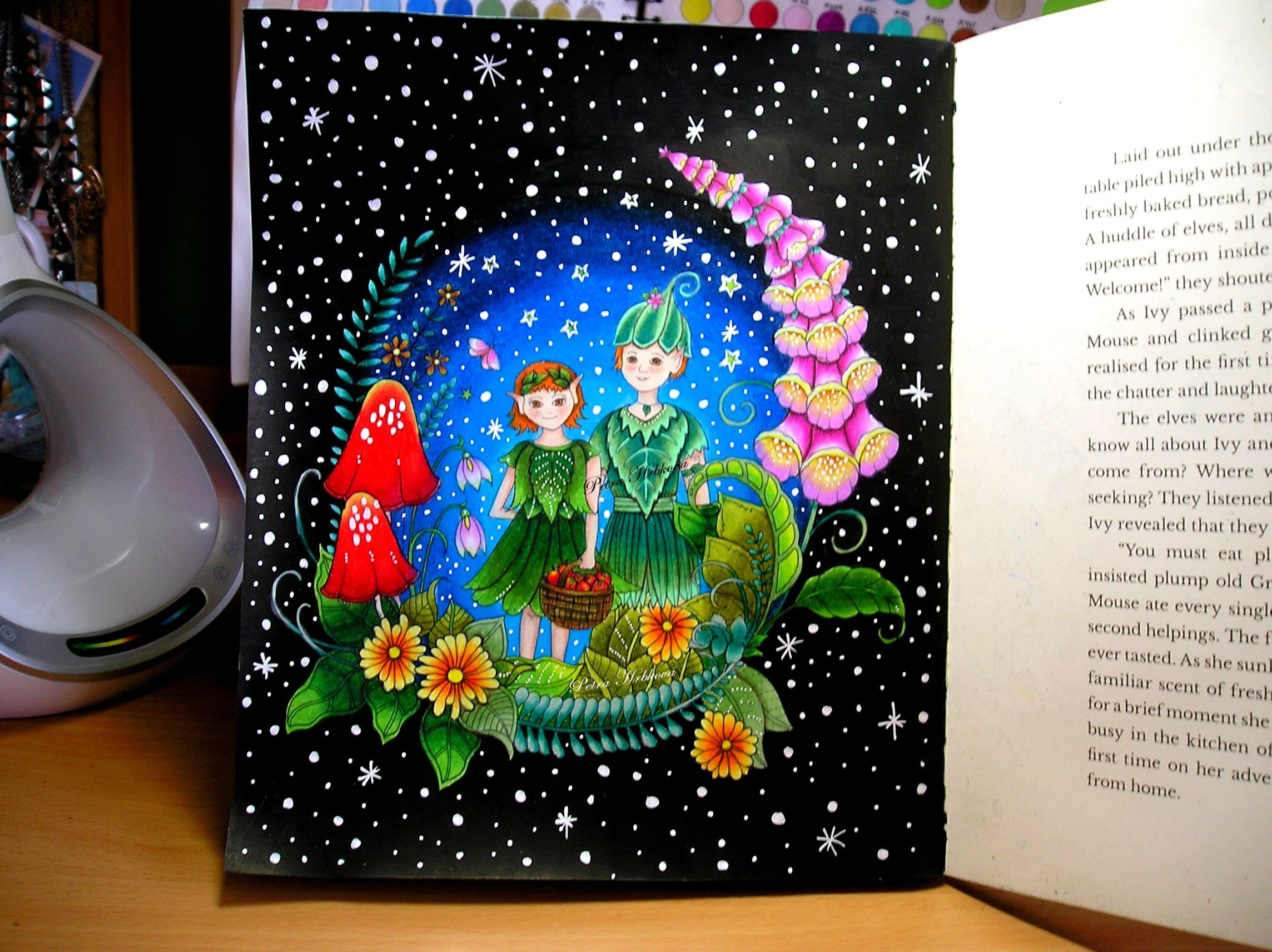 Ivy And The Inky Butterfly Johanna Basford Prismacolor