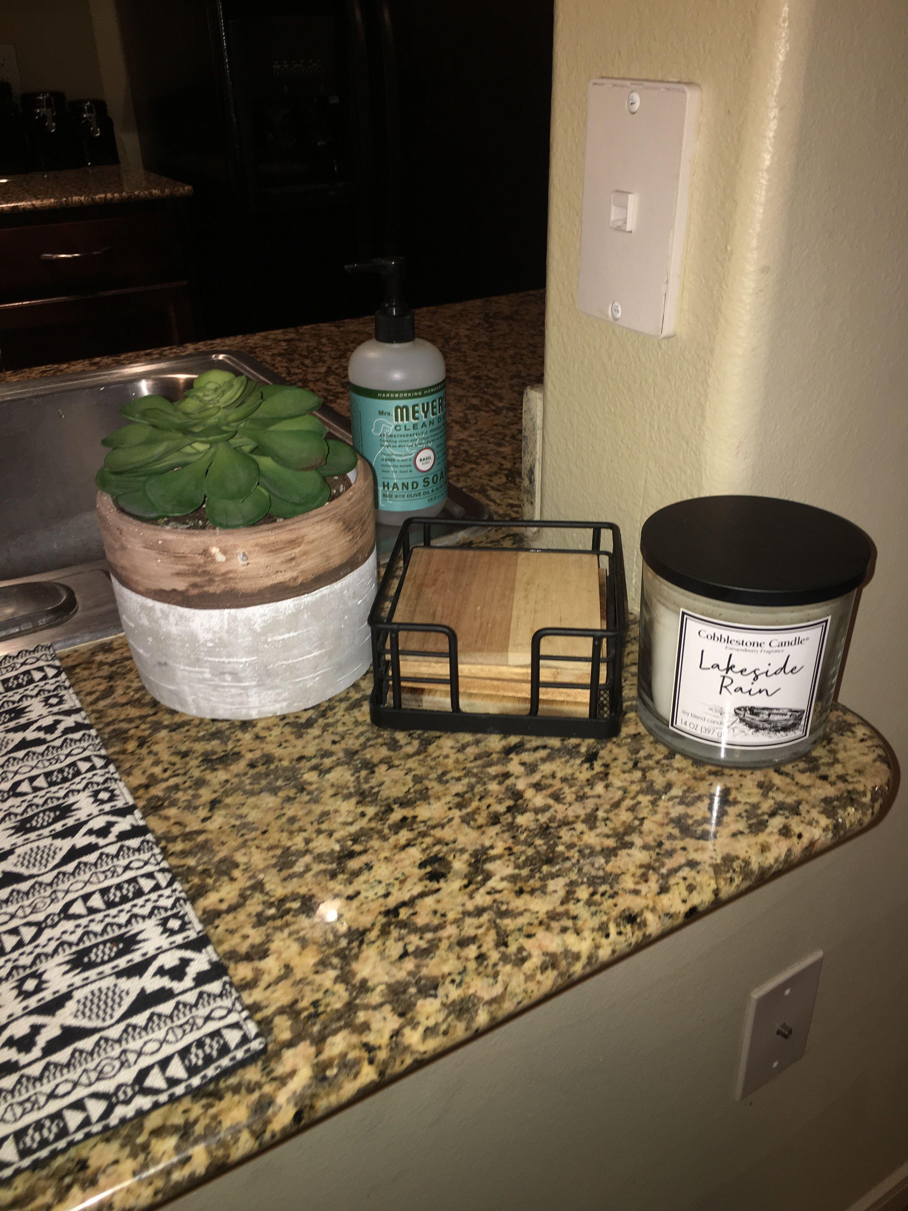 Counter Decor Counter Decor Coaster Holder How To Dry Basil
