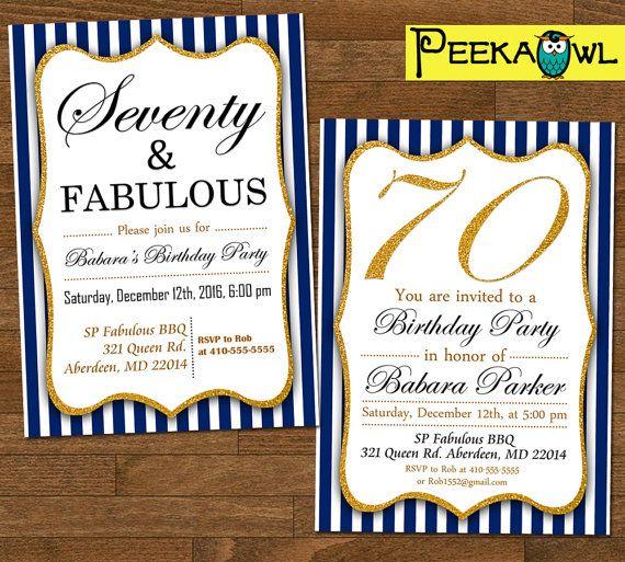Printable 70th birthday invitation card seventy still kickin printable 70th birthday invitation card seventy still kickin birthday invitation diy 70th birthday invites 70th birthday party 70th birthday filmwisefo Images