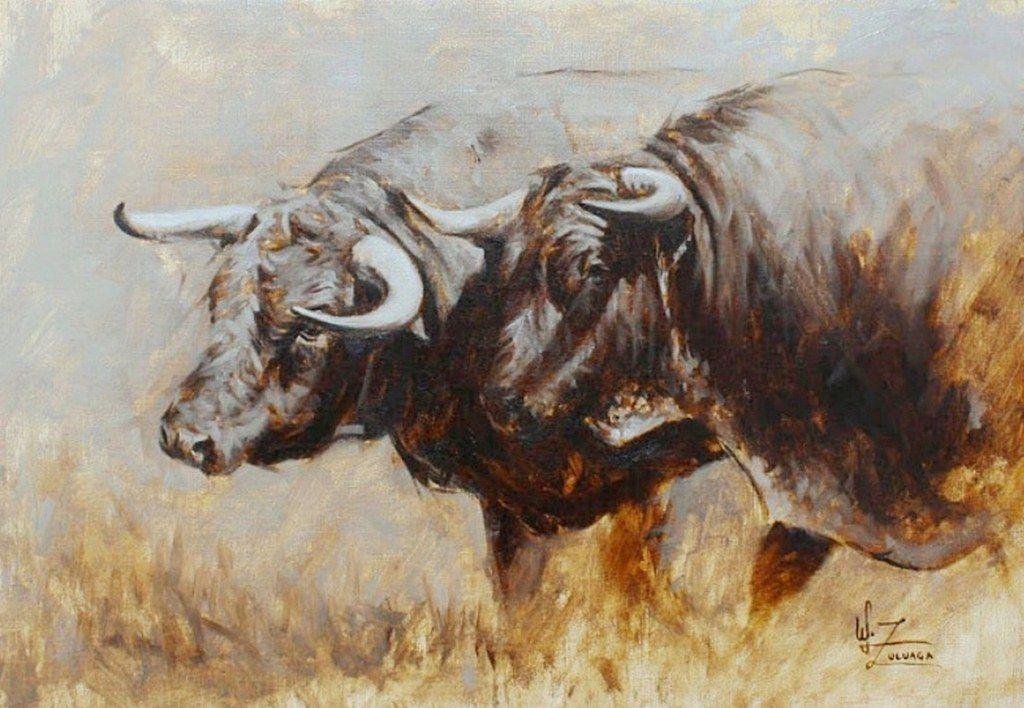 óleos de toros de lidia - Buscar con Google