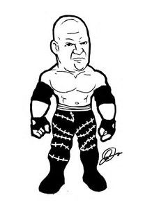 Image result for WWE Characters Coloring Pages