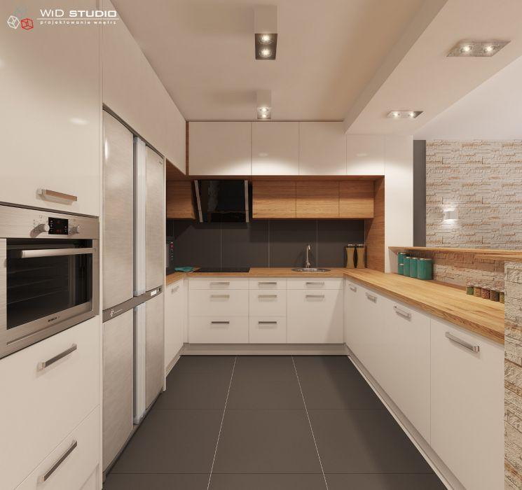 Znalezione obrazy dla zapytania projekt kuchni  Małe