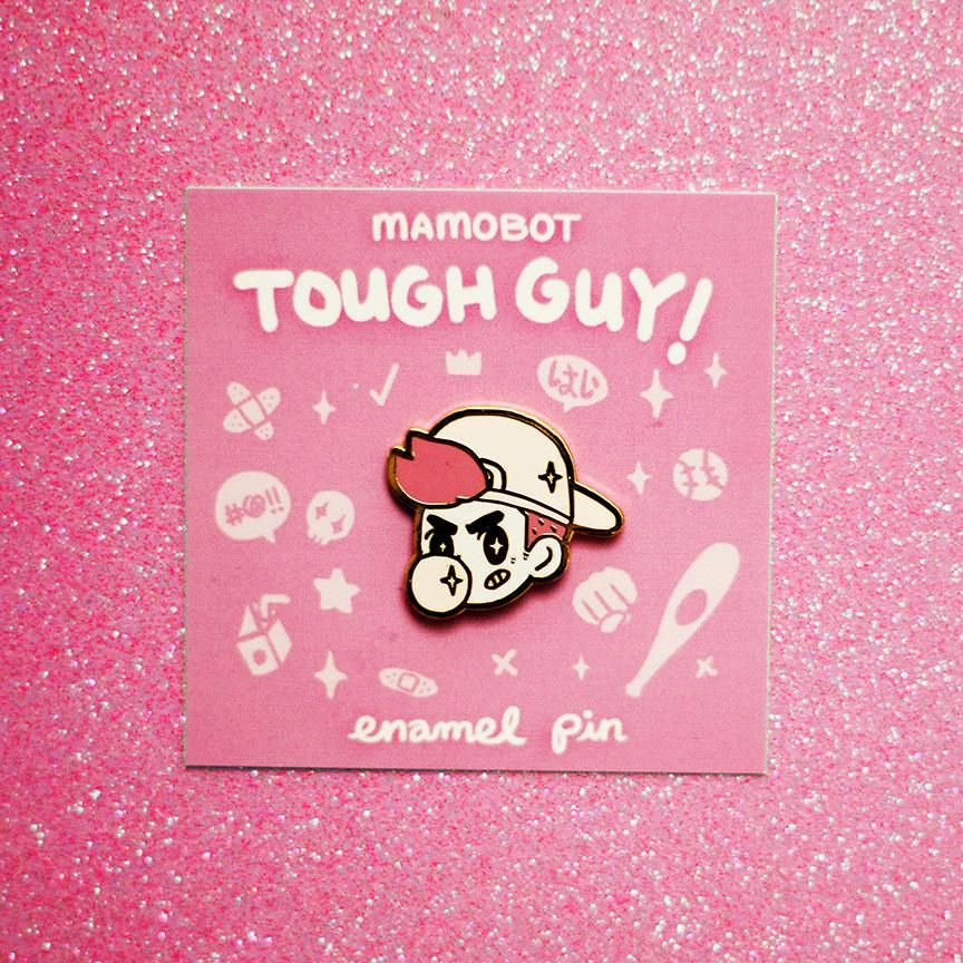 Speechless Original Hard Enamel Pin