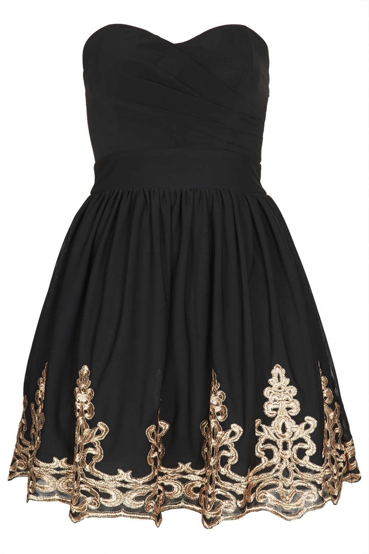Lila bandeau dress by tfnc dresses clothing topshop usa