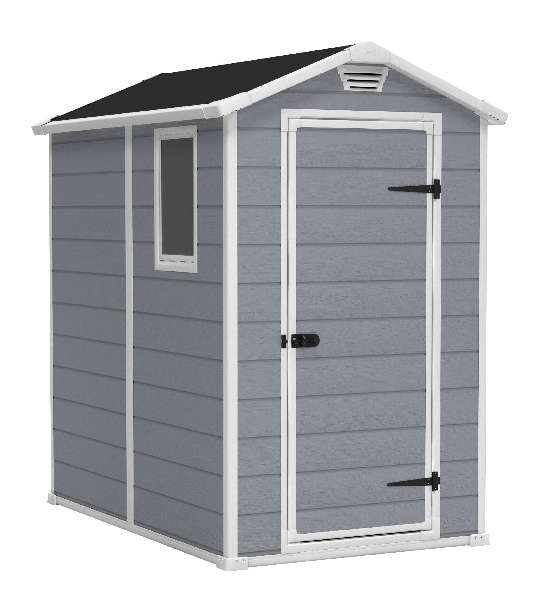 Sears keter keter manor 4x6 lawn garden for Jardin 4x6 shed