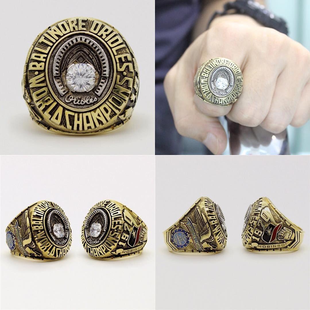 Baltimore Orioles Mlb World Series Championship Ring Baltimoreorioles Orioles Oriolesbaseball Oriolesgame Mlb World Series Orioles Game Championship Rings