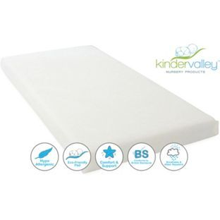 best website a7aa3 9c8e7 Buy Kinder Valley Flow Cot Mattress at Argos.co.uk, visit ...