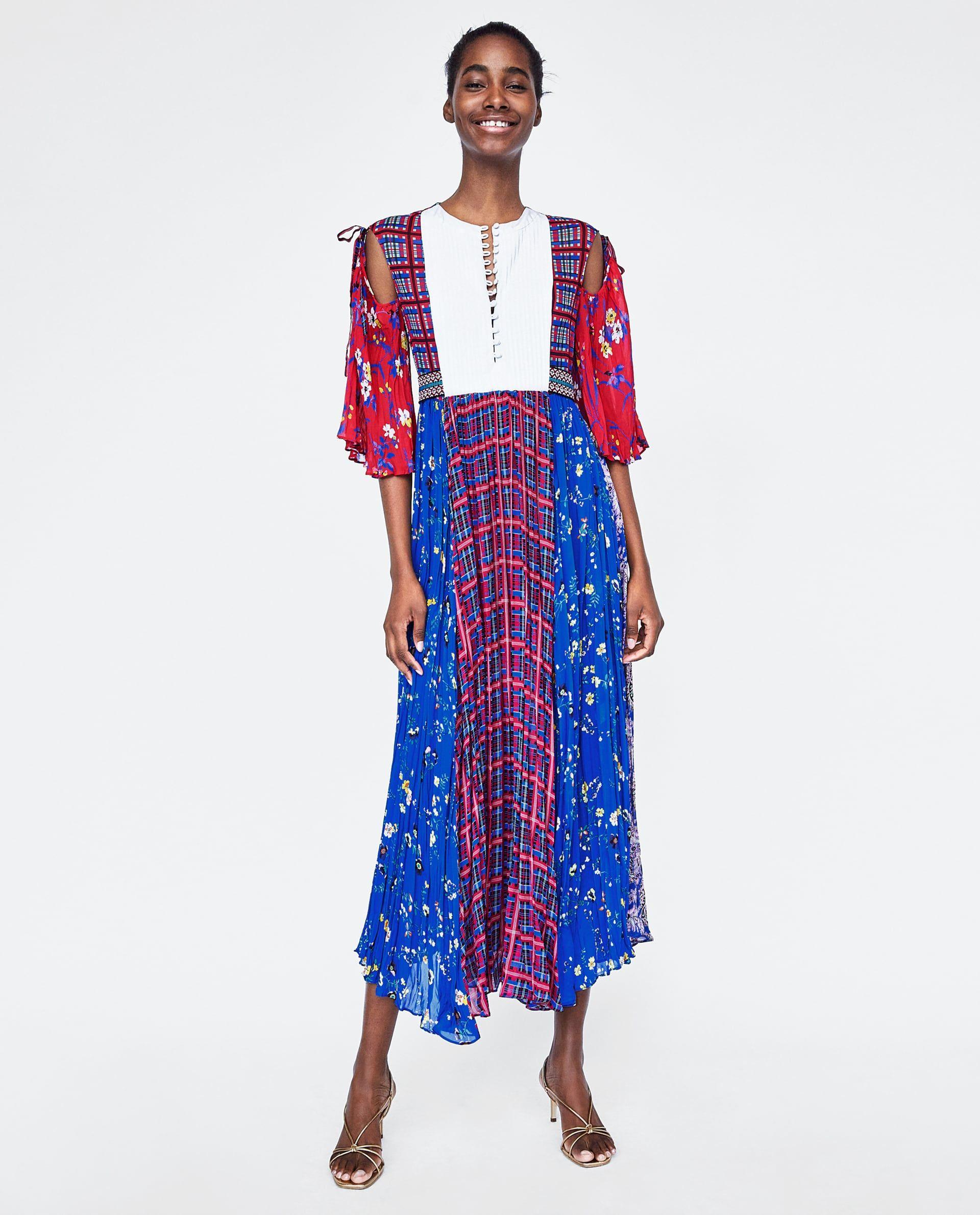 Estampado Imagen De Combinado Zara 1 Vestido Fl1TKJc