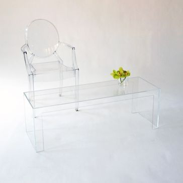 NEW! Invisible Light Coffee Table From Kartell   Taylor Creative Inc