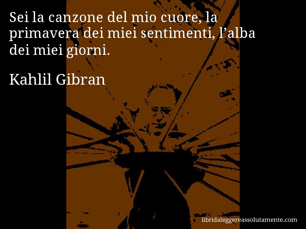 Cartolina con aforisma di Kahlil Gibran (38)