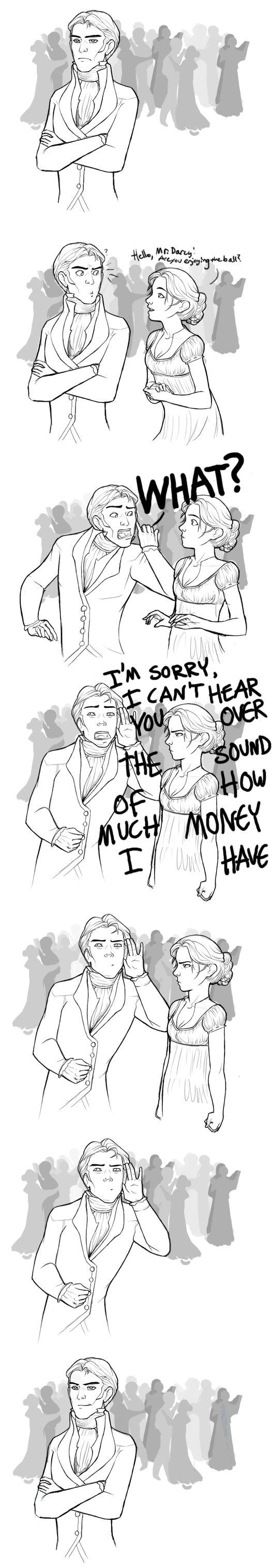 Pride and Prejudice- Mr. Darcy by wegs.deviantart.com I love Mr. Darcy.