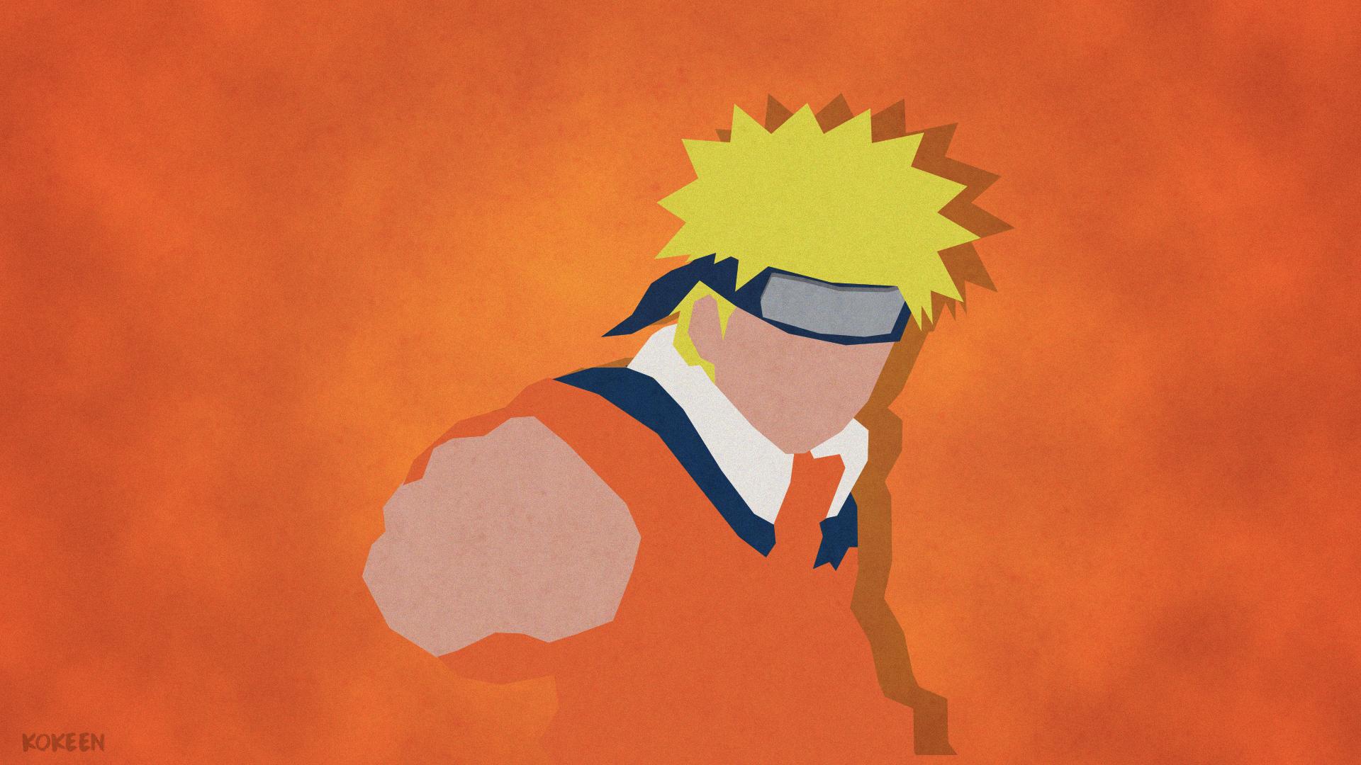 Naruto Minimalist Wallpaper With Images Naruto Wallpaper