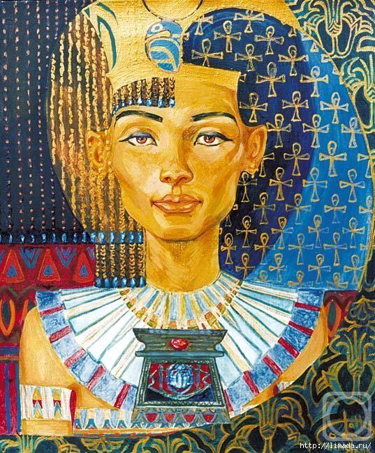 Картинка для декупажа египет