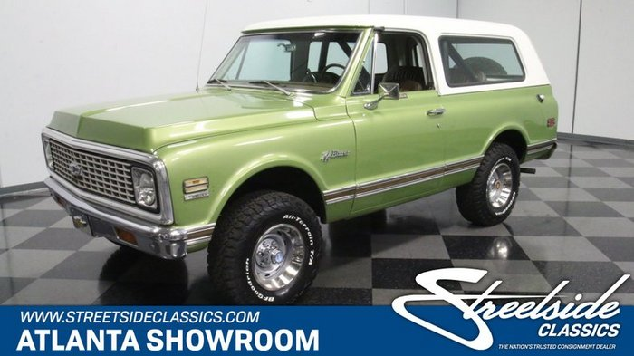 Classic 1972 Chevrolet K5 For Sale 2209067 41 995 Lithia Springs Georgia Jeep Invented The Personal 4x4 Ford Made It P Chevrolet K5 Blazer Lithia Springs