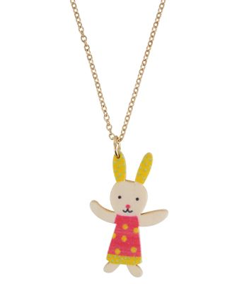 Wooden Rabbit Necklace   FOREVER21 - 1000016283