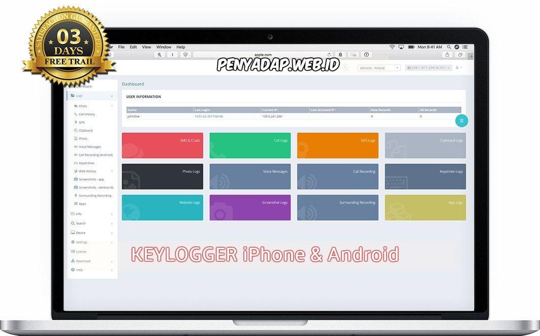 Software KeyLogger iPhone & Android (IKEYMONITOR
