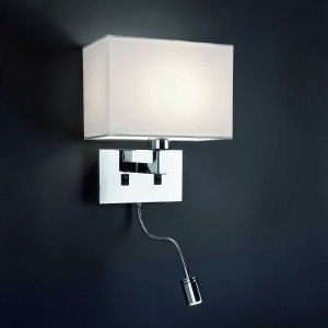 Applique murale avec liseuse LED - Faro | chambre | Pinterest | House
