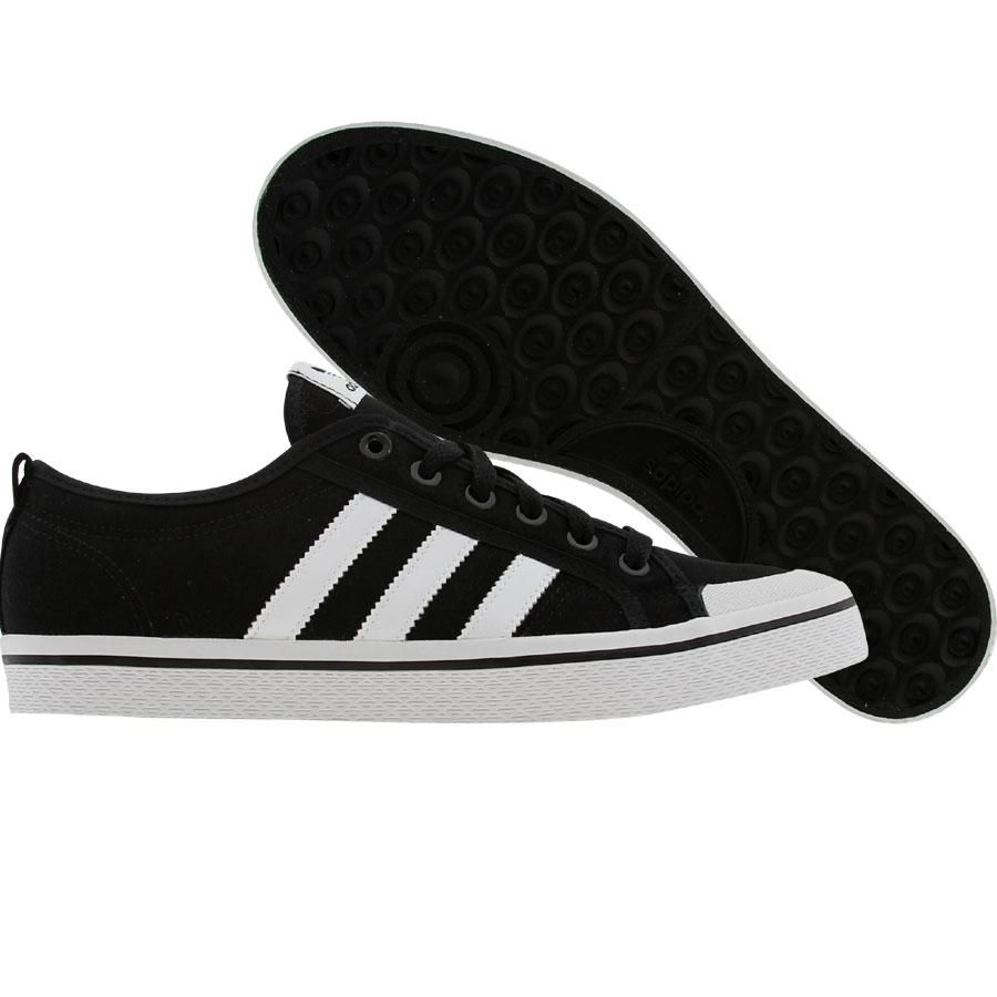 Adidas Womens Honey Stripes Low (black1 / white / black1) G43669 - $51.99