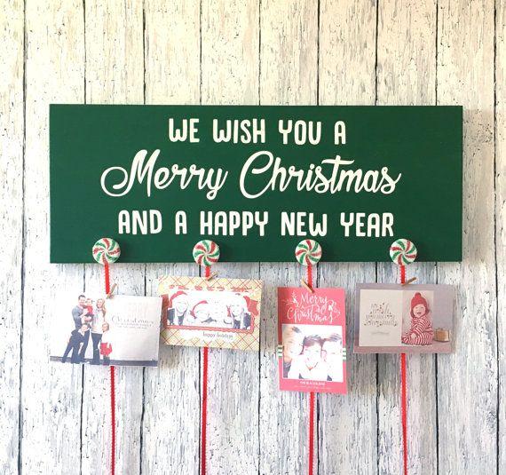 DIY Craft Kit Create Your Own Christmas Card Holder Card