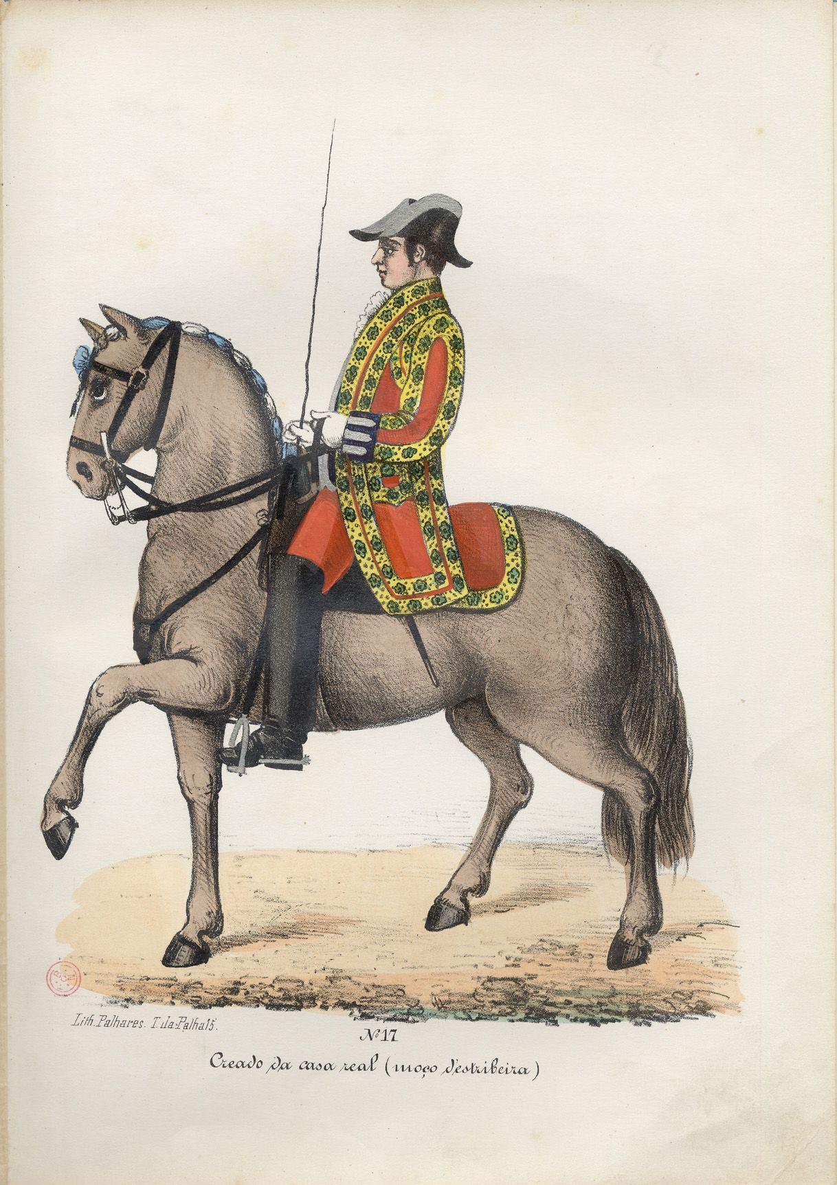 Portuguese Royal Guard 1850 Our Equestrian Heritage