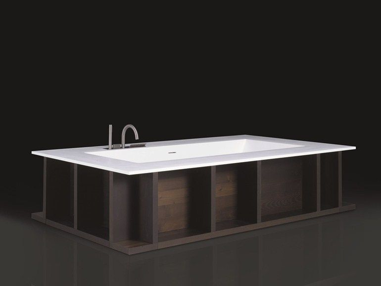 Vasca Da Bagno Legno Prezzo : Vasca da bagno centro stanza in cristalplant swim c by boffi