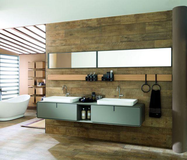 Meuble salle de bain  des modèles tendance Shopping, Composition