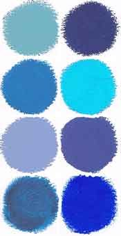 Meanings of blue color wheel artists sometimes i feel - Jewel tones color wheel ...