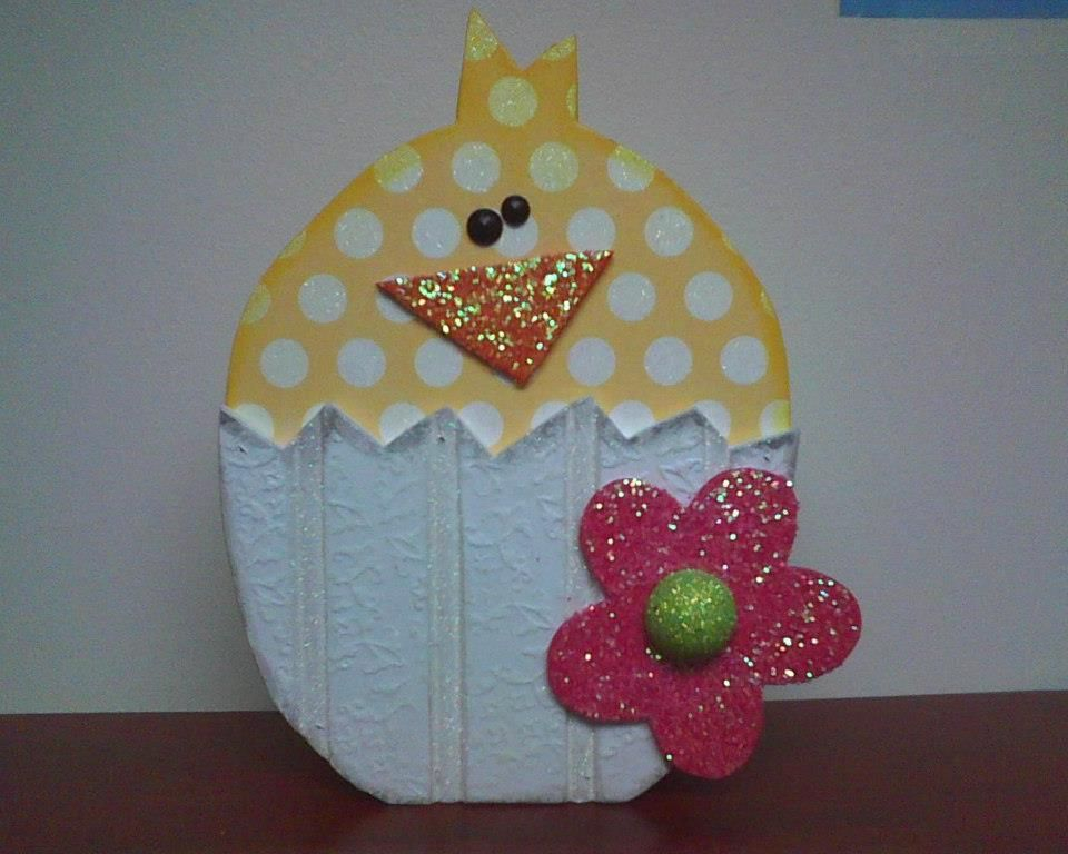 Chick in Egg at WOOD Creations