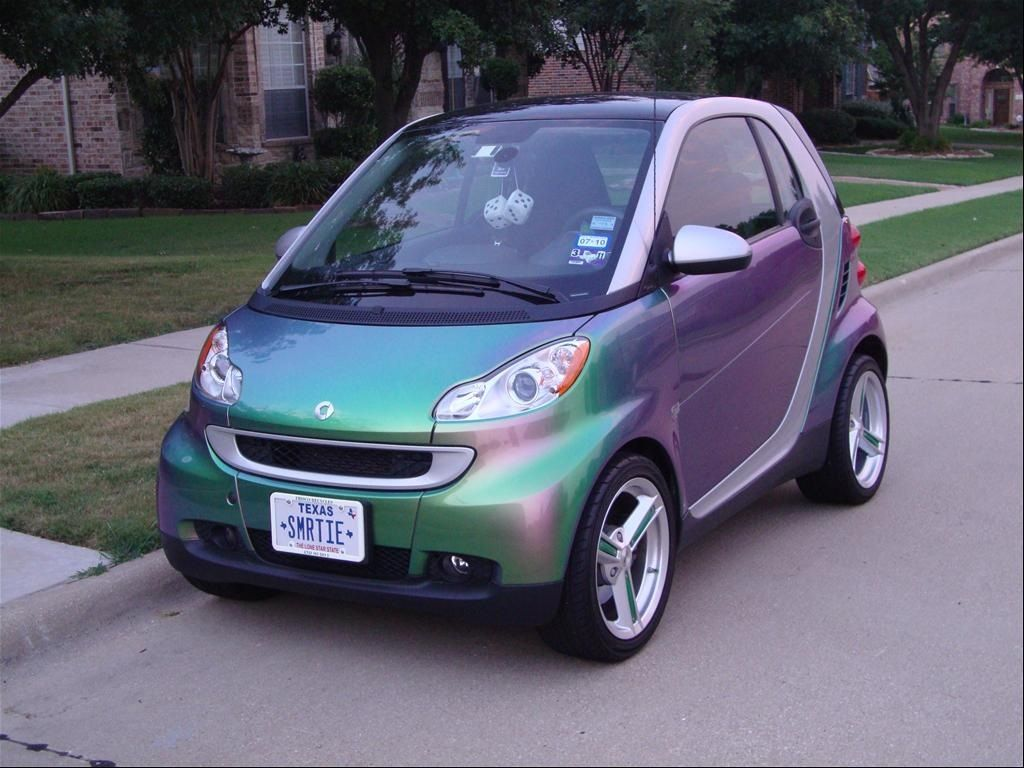 Smart car sticker designs - Smart Car