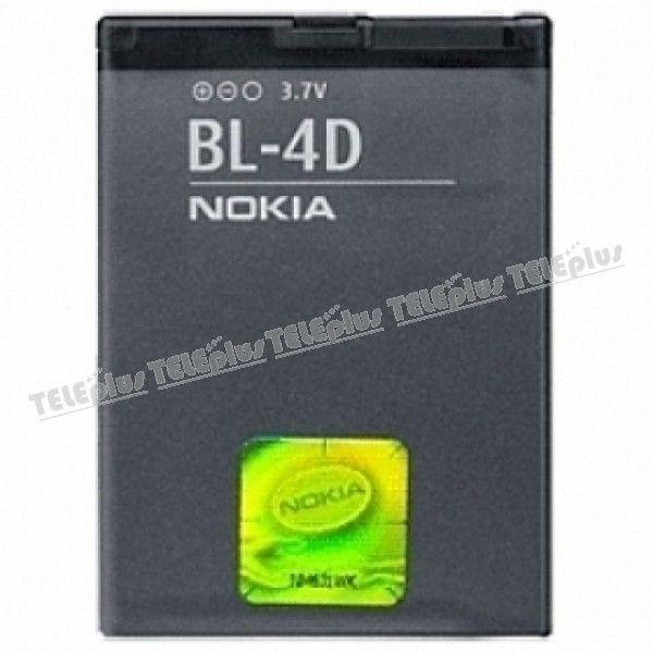Nokia BL-4D Orijinal Batarya -  - Price : TL29.90. Buy now at http://www.teleplus.com.tr/index.php/nokia-bl-4d-orijinal-batarya.html
