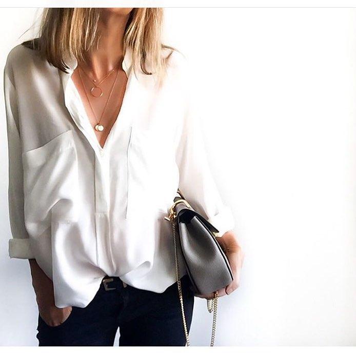 Белая рубашка: как выбрать, с чем носить   Белые рубашки ...