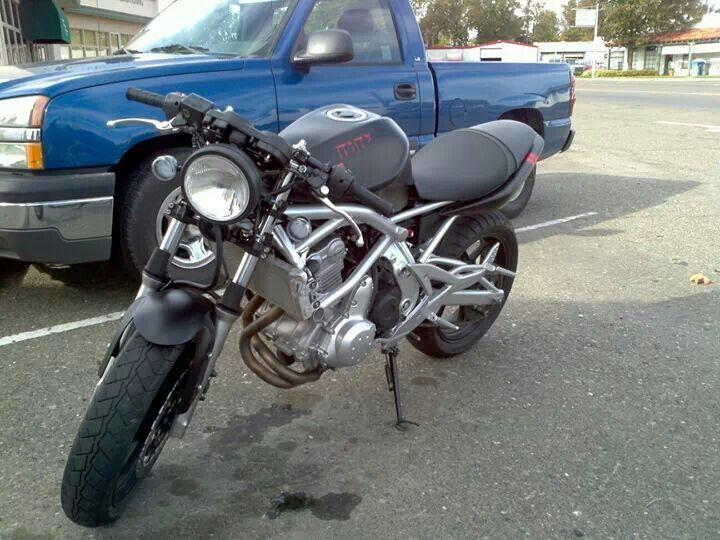 07 ninja 650r cafe racer | Bike | Pinterest